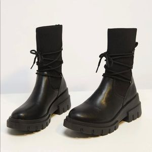 *NEW* faux leather boots